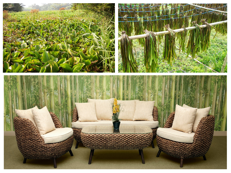 The Lovely Furniture from Water Hyacinth