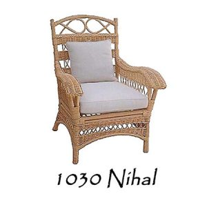 Nihal Rattan Chair