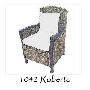 Roberto Wicker Chair