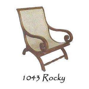 Rocky Rattan Chair