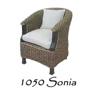 Sonia Wicker Chair