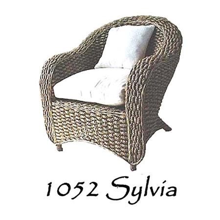 Sylvia Wicker Chair