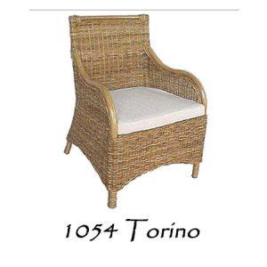 Torino Rattan Arm Chair