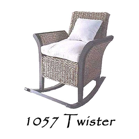 Twister Wicker Chair