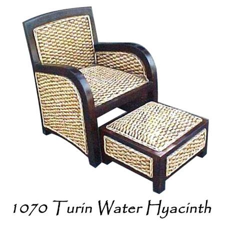Turin Water Hyacinth Chair