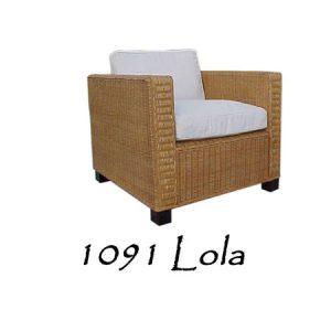 Lola Rattan Chair