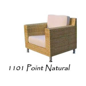 Point Natural Rattan Chair