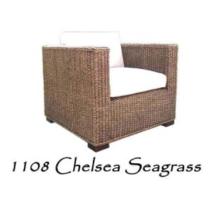 Chelsea Seagrass Woven Chair