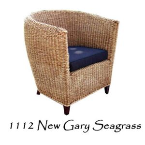 New Gary Seagrass Woven Chair
