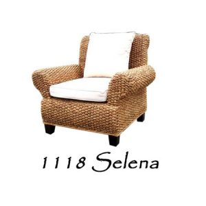 Selena Wicker Chair