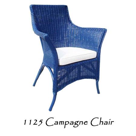Champagne Rattan Chair