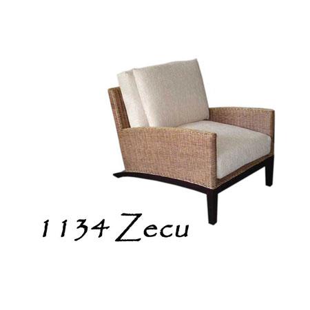 Zecu Rattan Arm Chair