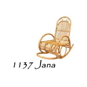 Jana Rattan Rocking Chair