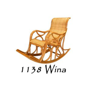 Wina Rattan Rocking Chair