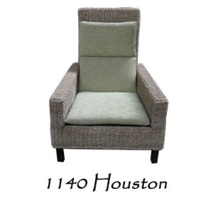 Houston Rattan Arm Chair