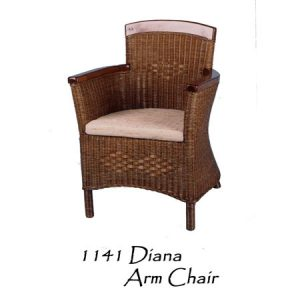 Diana Rattan Arm Chair