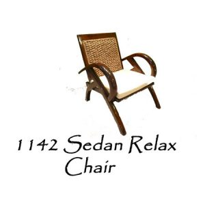 Sedan Wicker Relax Chair