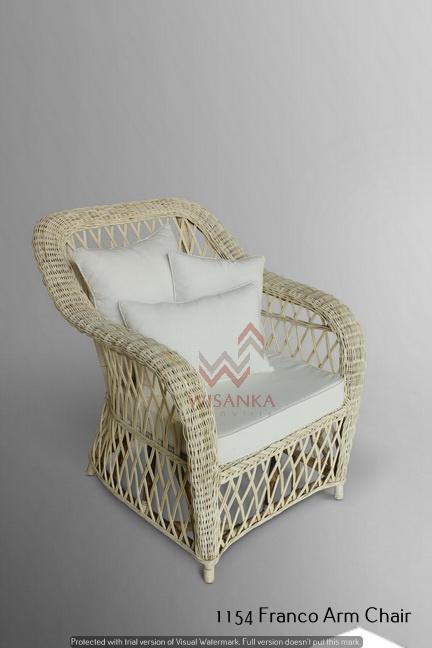 Franco Rattan Arm Chair