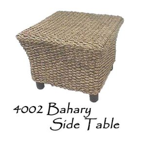 Bahary Wicker Side Table