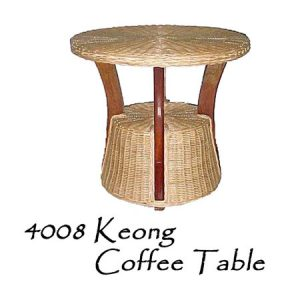 Keong Rattan Coffee Table