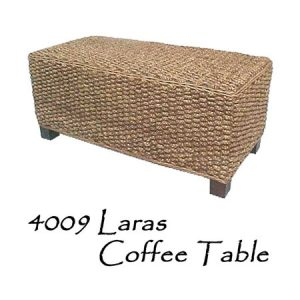Laras Wicker Coffee Table