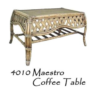 Maestro Rattan Coffee Table
