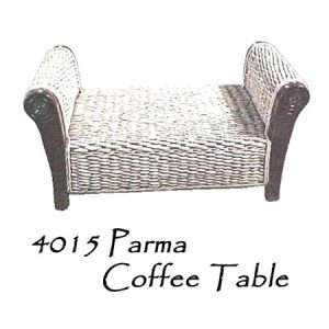 Parma Wicker Coffee Table