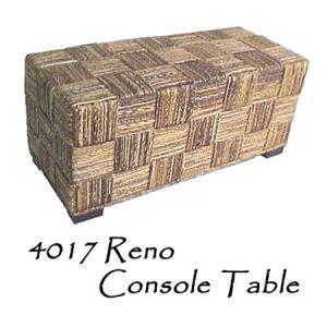 Reno Wicker Console Table