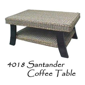 Santander Rattan Coffee Table