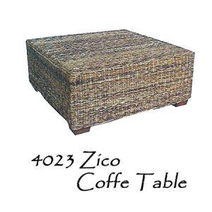 Zico Wicker Coffee Table