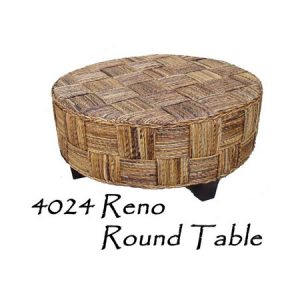 Reno Wicker Round Table