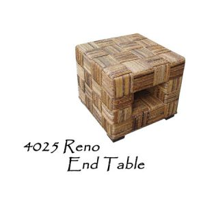 Reno Wicker End Table