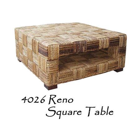 Reno Wicker Square Table