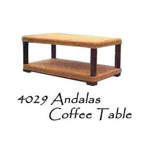 Andalas Rattan Coffee Table