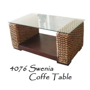 Swenia Wicker Coffee Table