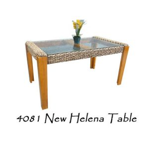 New Helena Wicker Table