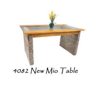 New Mio Wicker Table