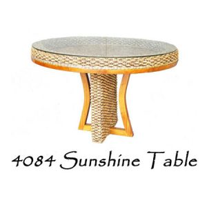 Sunshine Wicker Dining Table