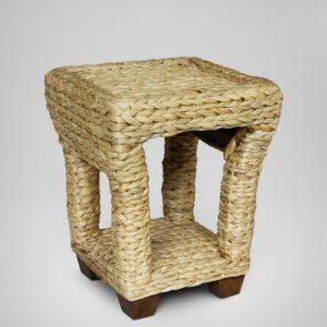 Bahary Wicker Lamp Table