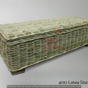 Latvia Rattan Storage Table