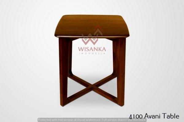 Avani Wooden Side Table