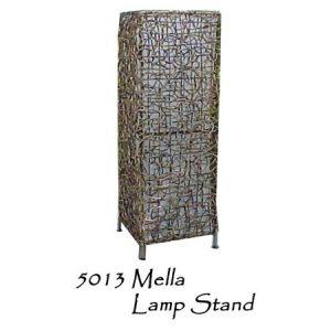 Mella Rattan Lamp Stand