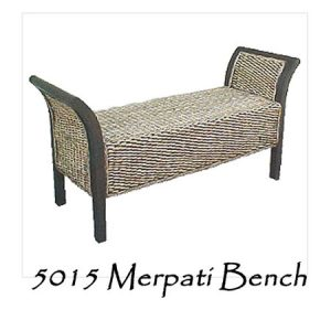 Merpati Wicker Bench