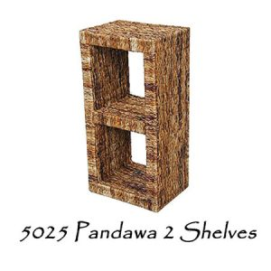 Pandawa 2 Wicker Shelves