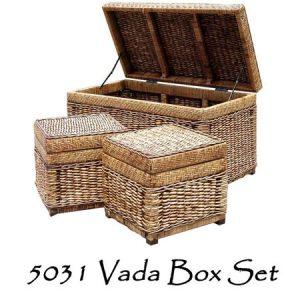 Vada Wicker Box Set