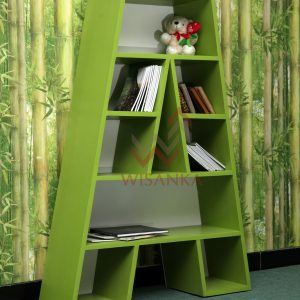 Adi Wooden Bookshelf