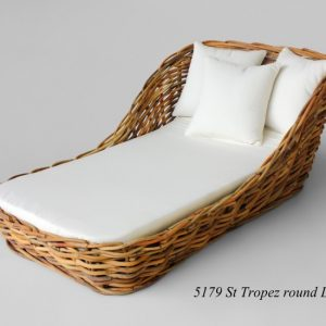 St Tropez Rattan Day Bed