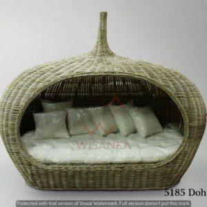 Doha Rattan Daybed