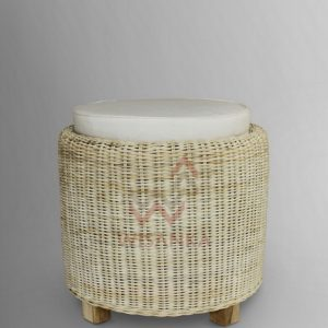 Dove Wicker Stool