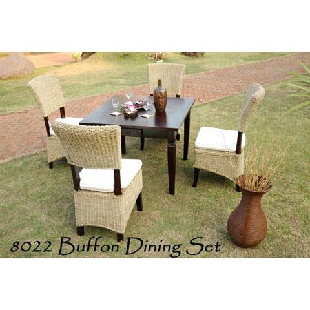 Buffon Rattan Dining Set